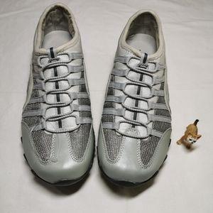 Skechers slip on casual sneakers